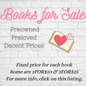 Preloved & Preowned Books for Sale